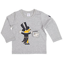 Buy Polarn O. Pyret Baby Magic Top, Grey Online at johnlewis.com