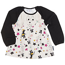 Buy Polarn O. Pyret Baby Magic Tunic, White Online at johnlewis.com