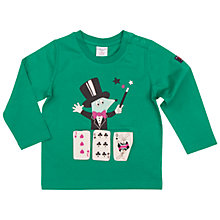 Buy Polarn O. Pyret Baby Magic Top, Green Online at johnlewis.com