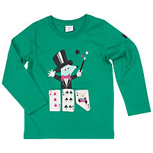 Buy Polarn O. Pyret Children's Magic Top, Green Online at johnlewis.com