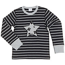 Buy Polarn O. Pyret Children's Stripe and Star Top Online at johnlewis.com
