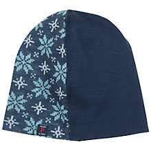 Buy Polarn O. Pyret Baby Merino Beanie Hat, Blue Online at johnlewis.com
