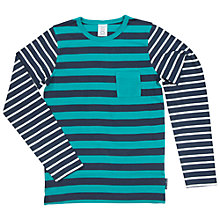 Buy Polarn O. Pyret Children's Long-Sleeve Stripe Top Online at johnlewis.com