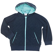 Buy Polarn O. Pyret Children's Quilted Fleece, Navy Online at johnlewis.com