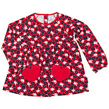 Buy Polarn O. Pyret Children's Floral Top Online at johnlewis.com