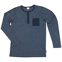 Buy Polarn O. Pyret Children's Henley Long Sleeve Top Online at johnlewis.com