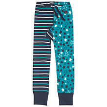 Buy Polarn O. Pyret Children's Star and Stripe Leggings, Blue Online at johnlewis.com