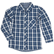 Buy Polarn O. Pyret Children's Reversible Shirt, Blue Online at johnlewis.com