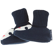 Buy Polarn O. Pyret Baby Penguin Booties, Blue Online at johnlewis.com