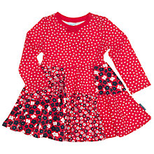 Buy Polarn O. Pyret Baby Multi Print Dress, Red Online at johnlewis.com