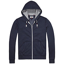 Buy Hilfiger Denim Basic Zip Through Hoodie Online at johnlewis.com