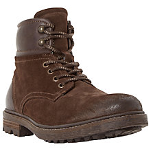 Buy Dune Canyon Suede Hiker Boots Online at johnlewis.com