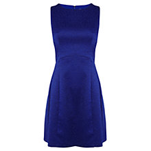 Buy Coast Betsie Jacquard Dress, Cobalt Blue Online at johnlewis.com