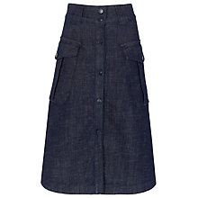Buy Whistles Lucie Utility Skirt, Denim Online at johnlewis.com