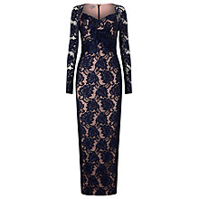 Buy Phase Eight Naomi Lace Maxi Dress, Electric Blue Online at johnlewis.com