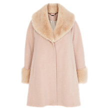 Buy Coast Constanta Coat, Blush Online at johnlewis.com