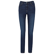 Buy Whistles Mid Wash Skinny Jeans, Mid Wash Denim Online at johnlewis.com
