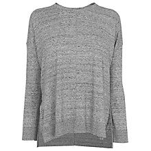 Buy Whistles Ribbed Long Sleeve T-Shirt Online at johnlewis.com