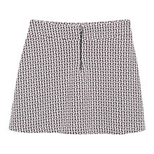 Buy Mango Geometric Patterned Skirt, Natural White Online at johnlewis.com