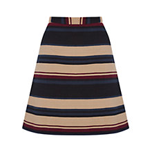 Buy Oasis Stripe Hattie Mini Skirt, Multi Online at johnlewis.com