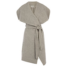 Buy Coast Estonia Sleeveless Coat, Silver Online at johnlewis.com