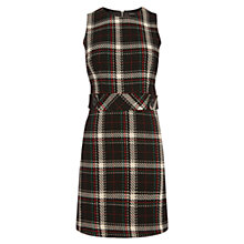 Buy Warehouse Enlarged Check Dress, Multi Online at johnlewis.com
