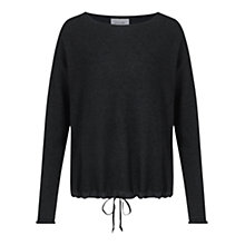 Buy Jigsaw Silk Hem Drawstring Jumper Online at johnlewis.com