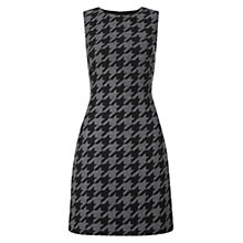 Buy Hobbs Nesta Dress, Grey/Black Online at johnlewis.com