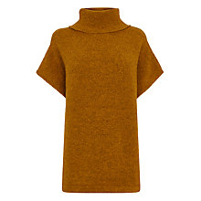 Buy Warehouse Cowl Neck Short Sleeve Jumper Online at johnlewis.com
