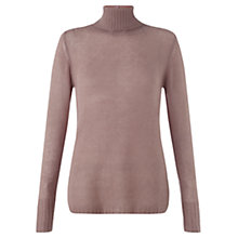 Buy Jigsaw Cloud Cashmere Audrey Polo Jumper Online at johnlewis.com