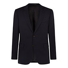 Buy Aquascutum Etherow Cotton Hopsack Blazer, Navy Online at johnlewis.com