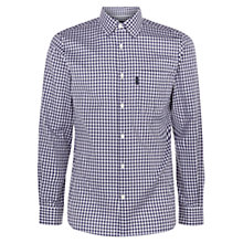 Buy Aquascutum Whitelock Shirt, Blue Online at johnlewis.com