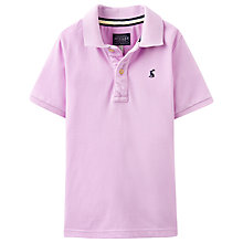 Buy Little Joule Boys' Junior Woody Short Sleeve Polo Top Online at johnlewis.com