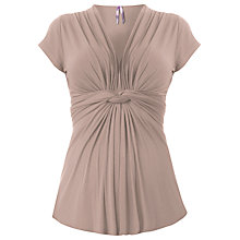 Buy Séraphine Jolie Maternity Nursing Top, Taupe Online at johnlewis.com