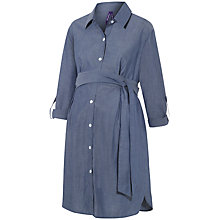 Buy Séraphine Abalina Denim Maternity Shirt Dress, Blue Online at johnlewis.com