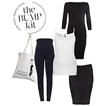 Buy Séraphine Maternity The London Bump Kit, Black/White Online at johnlewis.com