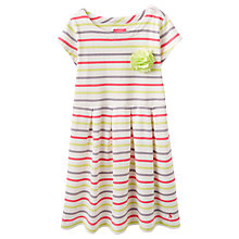 Buy Little Joule Girls' Stripe Jersey Dress, Multi Online at johnlewis.com