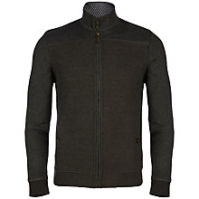 Buy Ted Baker Lapin Quilted Funnel Neck Jacket, Charcoal Online at johnlewis.com