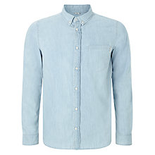 Buy Carhartt WIP Civil Denim Shirt, Stone Bleached Online at johnlewis.com