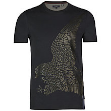 Buy Ted Baker Melikan Graphic T-shirt Online at johnlewis.com