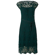 Buy White Stuff Caryn Dress, Emerald Green Online at johnlewis.com