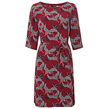 Buy White Stuff Geisha Shift Dress, Rich Red Online at johnlewis.com