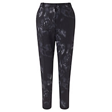 Buy Jigsaw Wool Rose Trousers, Black Online at johnlewis.com