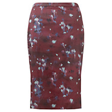 Buy Jigsaw Smudge Bloom Pencil Skirt, Multi Online at johnlewis.com