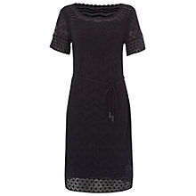 Buy White Stuff Reva Dress, Black Online at johnlewis.com