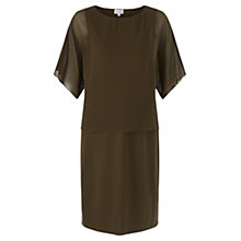 Buy Jigsaw Silk Top Layered Dress Online at johnlewis.com