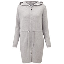 Buy Pure Collection Faraday Parka Coat, Heather Dove Online at johnlewis.com