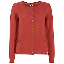 Buy White Stuff Fleecy Cardigan, Spinners Pink Online at johnlewis.com