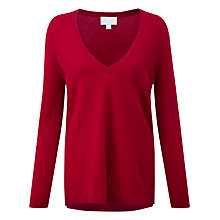 Buy Pure Collection Macaulay Jumper, Redcurrant Online at johnlewis.com