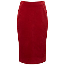 Buy Pure Collection Scarsdale Skirt, Redcurrant Online at johnlewis.com